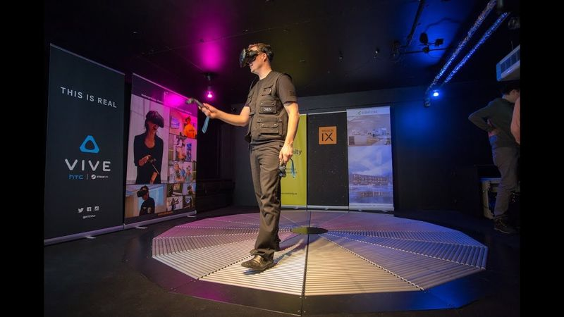 360 degree vr walking platforms the omnifinity omnideck further